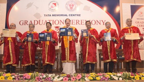 Hon'ble Vice President Shri Venkaiah Naidu announcing the new academic course - KEVAT: A Patient Navigation Program